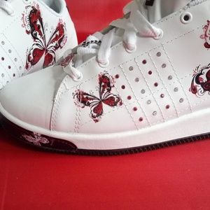 Red by marc ecko Shoes - ECKO RED PHRANZ-PHLUTTER  WOMENS SNEAKERS